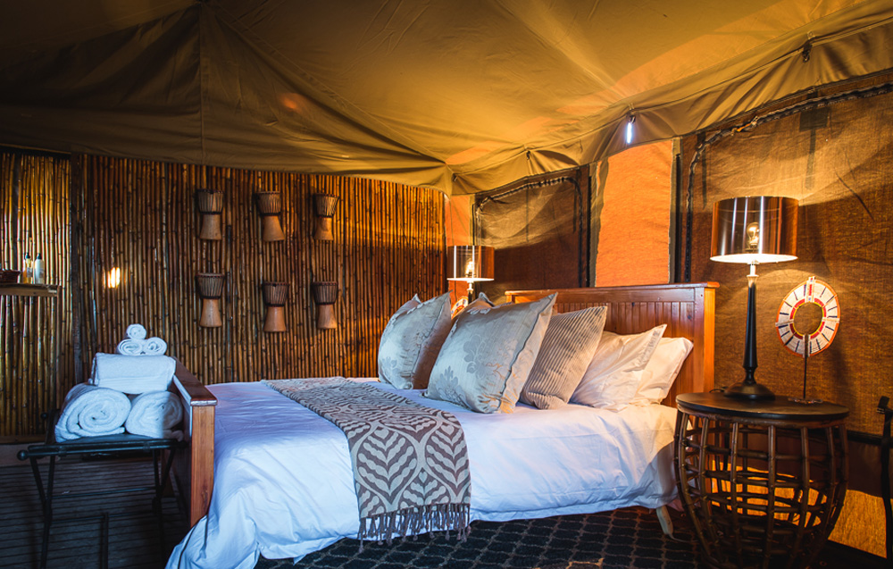 Luxury Tented Accommodation, Mobile Tented Camps